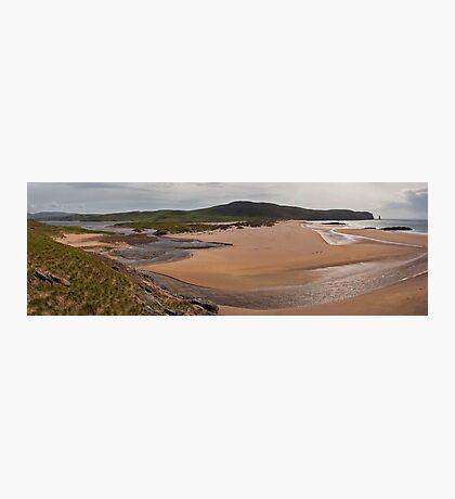 Sandwood Bay Panorama Photographic Print