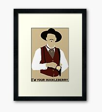 Tombstone: That's Just My Game Framed Print