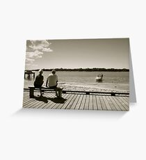Golden Years Greeting Card
