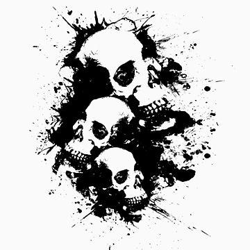 Cascading Skulls 2 by xsharezx