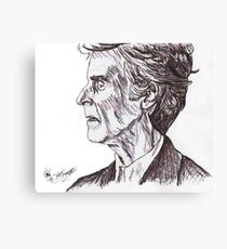 The Time Lord Canvas Print