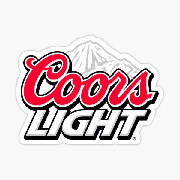 Coors Light Sticker