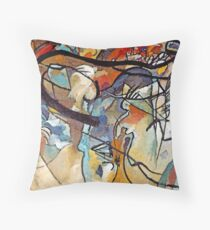 Wassily Kandinsky Composition 5 - Abstract Art Throw Pillow