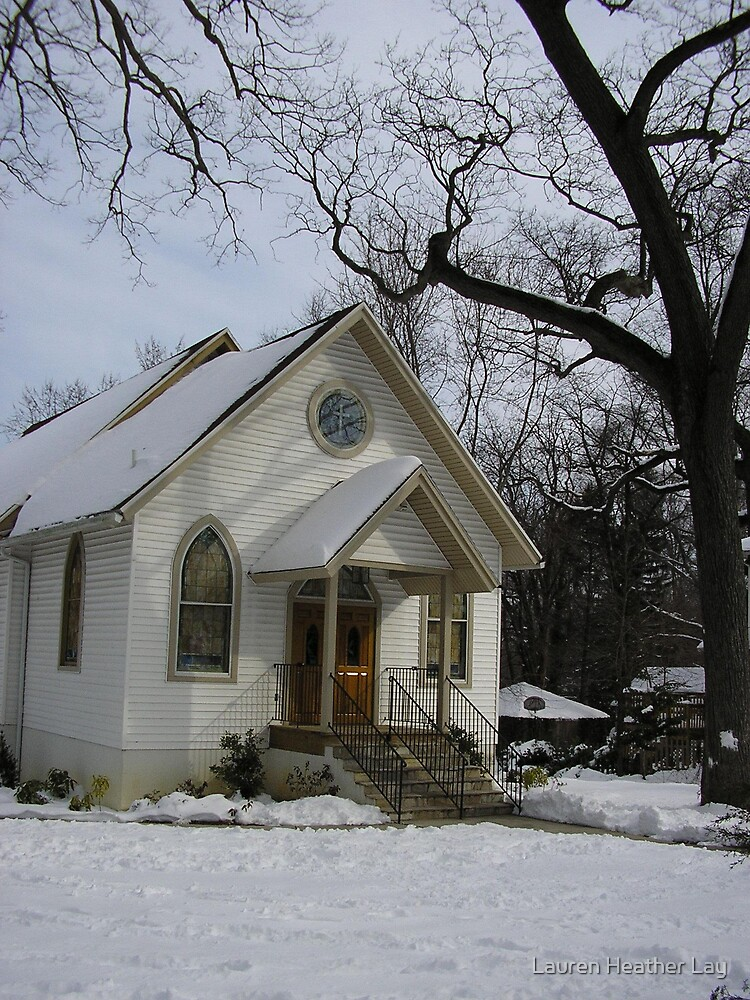 Church in the Winter by Lauren Heather Lay