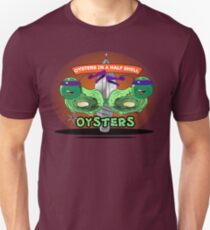 Oysters In A Half Shell Unisex T-Shirt