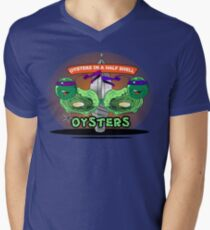 Oysters In A Half Shell Men's V-Neck T-Shirt