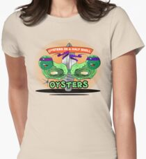 Oysters In A Half Shell Women's Fitted T-Shirt