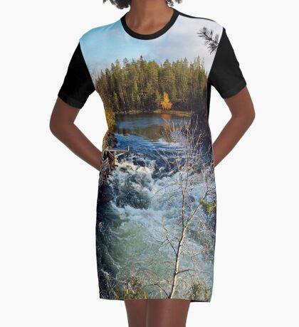 Suomi Graphic T-Shirt Dress