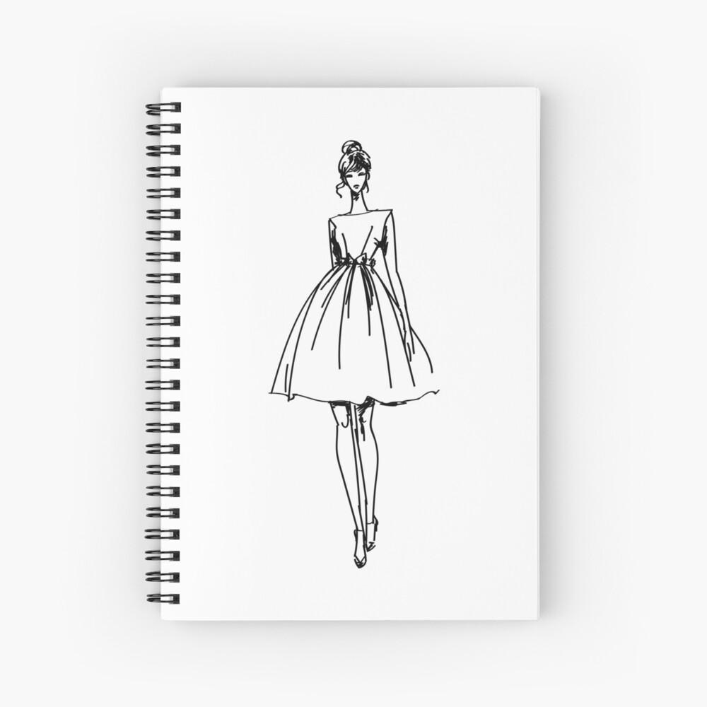 Fashion Sketch Art Print By Mad Designs Redbubble