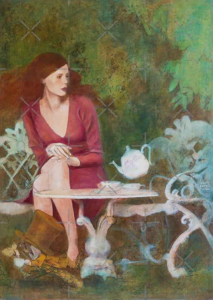 I'ts always tea time by Val Garcia Duran