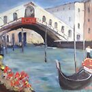 After Colley Whisson- Rialto Bridge by Estelle O'Brien