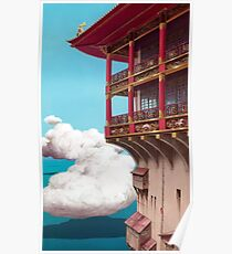 in the clouds  Poster