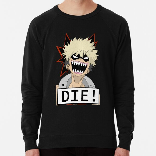 MOURIR!!! Sweatshirt léger