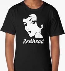 Miss Redhead (text) [iPad / Phone cases / Prints / Clothing / Decor] Long T-Shirt