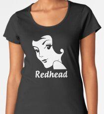 Miss Redhead (text) [iPad / Phone cases / Prints / Clothing / Decor] Women's Premium T-Shirt