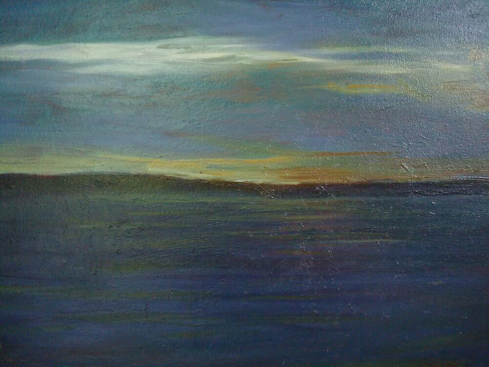 The sea by Abdellatif Ouali