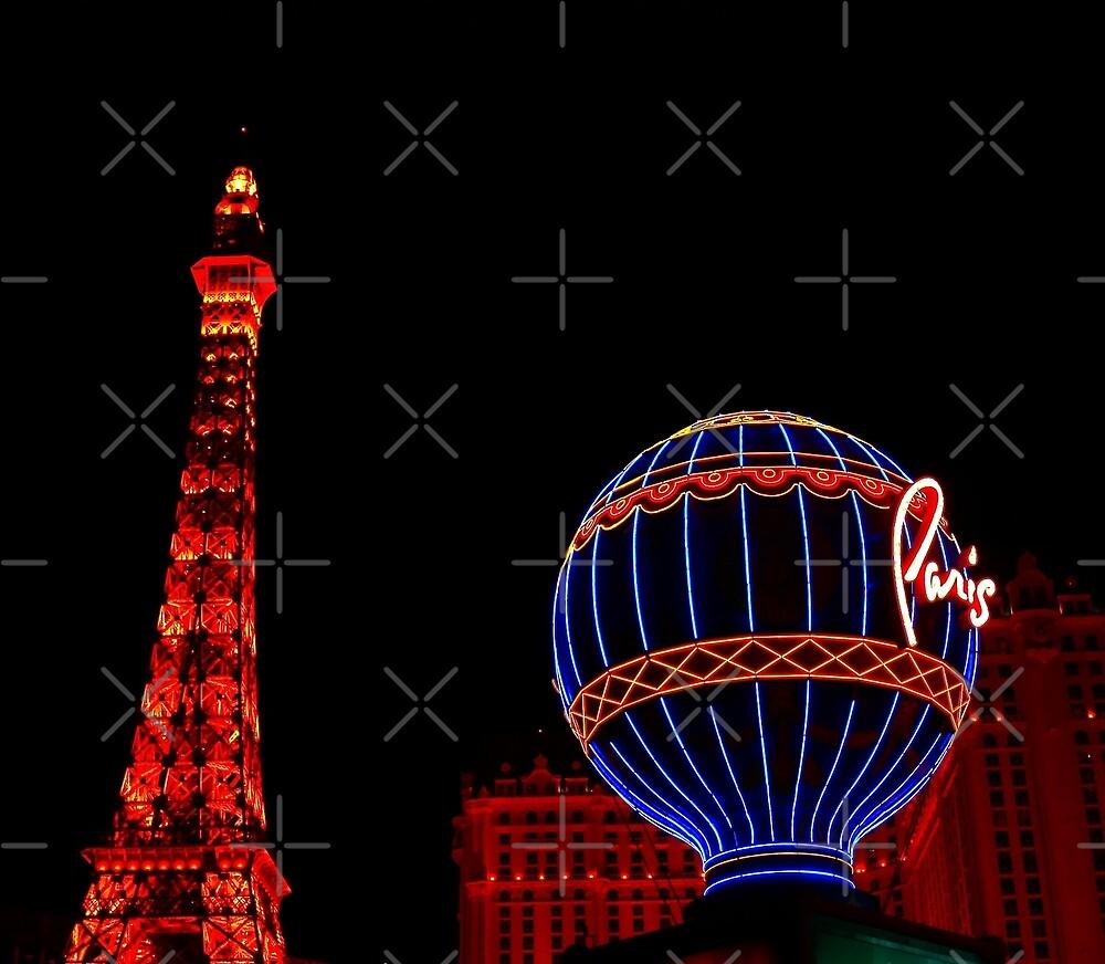 Paris in Vegas  by Linda Bianic