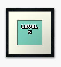 LVL 5 Framed Print