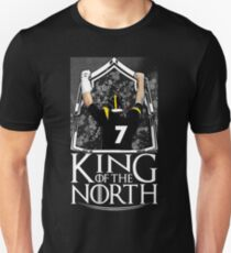 B. Roethlisberger King Of The North - Gift For Pittsburgh Football Fans  Unisex T-Shirt