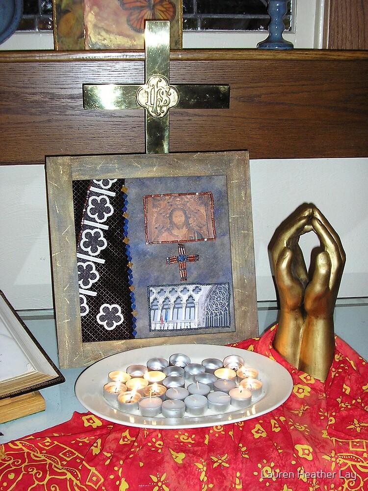 Prayerathon Altar Number One by Lauren Heather Lay