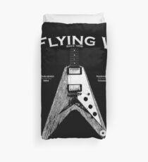 The Flying V Duvet Cover