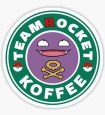Team Rocket - Koffee Sticker
