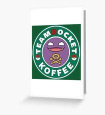 Team Rocket - Koffee Greeting Card