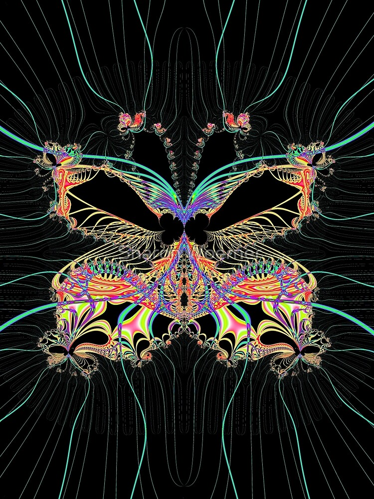 Fantasy Butterfly by Sharon Woerner