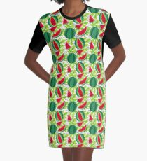 Juicy and sweet watermelon Graphic T-Shirt Dress