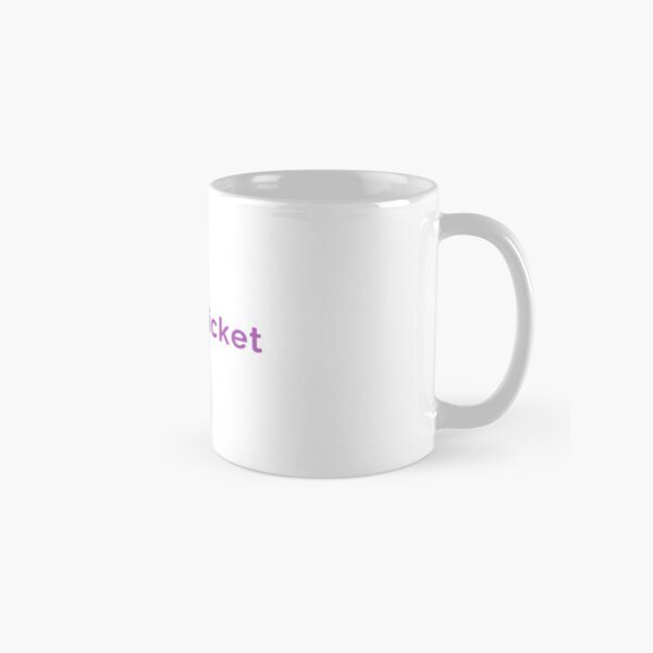 Proud Cricket in Black and Purple Mugs Classic Mug