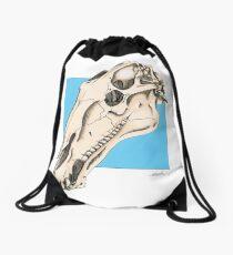 Horse Skull Drawstring Bag