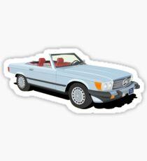 Vintage Mercedes Convertible Sticker