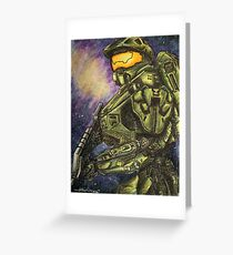 Master Chief Greeting Card