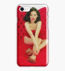 Rose Mcgowan iPhone Case/Skin