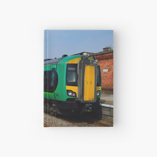 London Midland class 172 at Worcester Foregate St Hardcover Journal