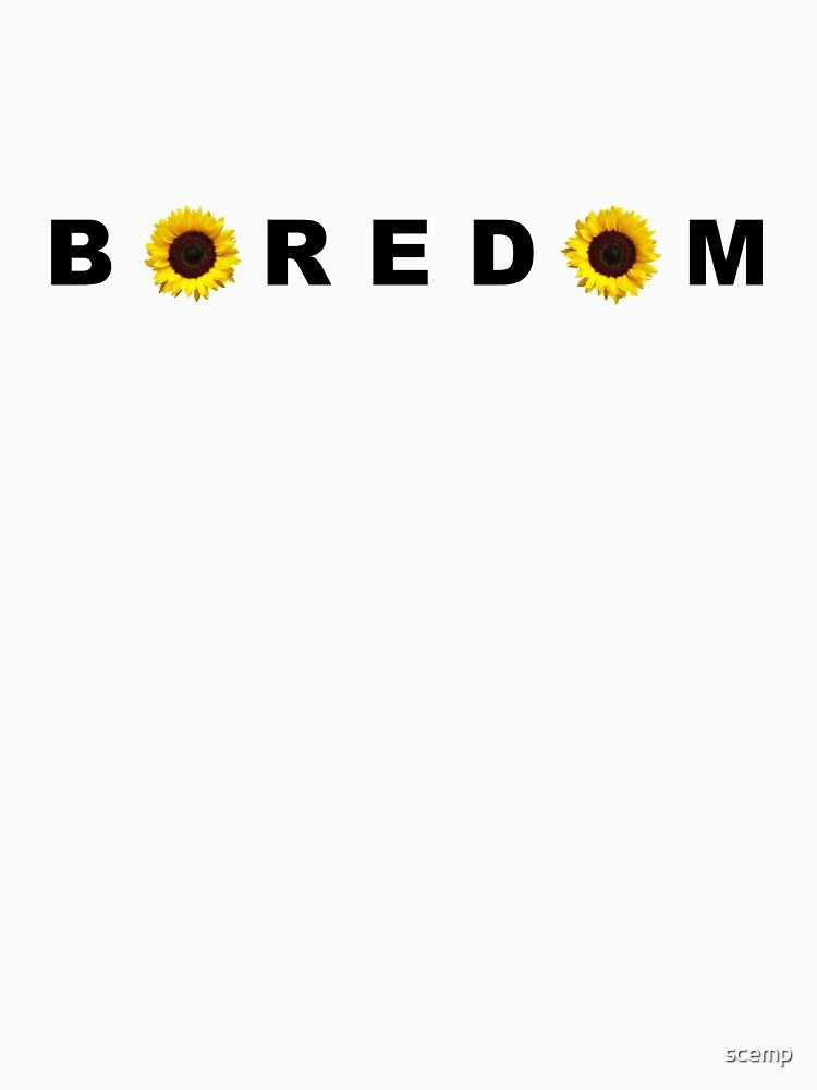 Langeweile - Gelb von scemp