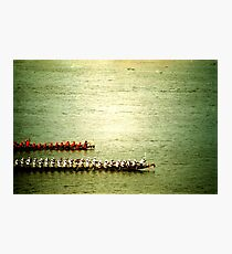 row, phnom penh, cambodia Photographic Print