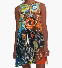 Sometimes Street art graffiti  A-Line Dress