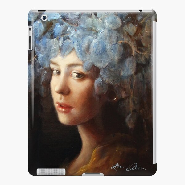 Girl with a Stretched Earlobe iPad Snap Case