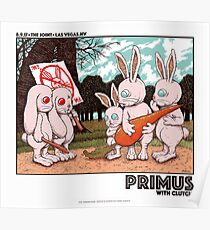 Primus With Clutch, August 8. 2017 The Joint, Las Vegas. NV Poster
