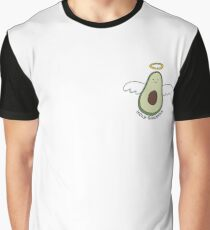 'Holy Guacamole' Avocado Illustration Graphic T-Shirt