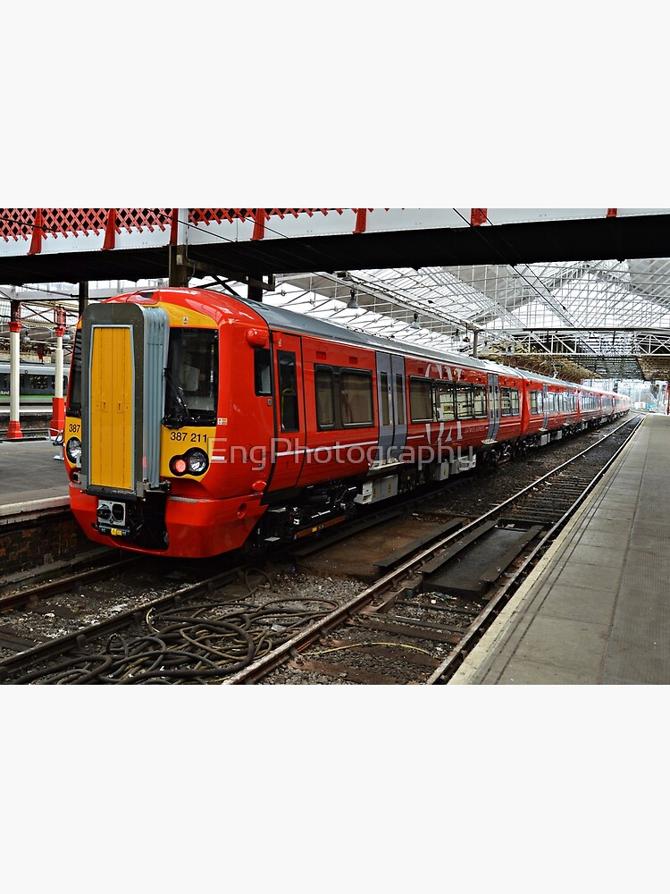 Gatwick Express class 387 at Crewe Railways Station by EngPhotography