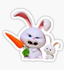 Evil hare Sticker
