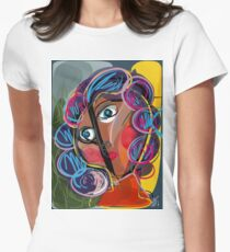 Pop Expressionist Portrait From France T-Shirt