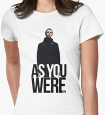 Liam Gallagher // As You Were Polarized image Women's Fitted T-Shirt