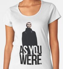 Liam Gallagher // As You Were Polarized image Women's Premium T-Shirt