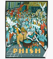 POSTER Phish, Las Vegas. NW October 28,29,30,31 2016, MGM Grand Garden Arena Poster