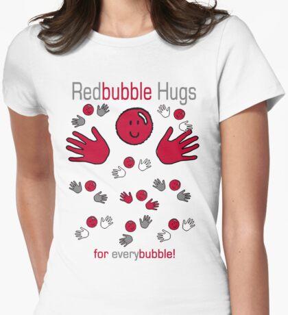 Red Bubble Hugs T-Shirt