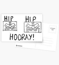 Hip Hip Hooray! Postcards