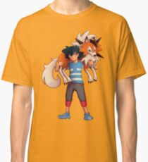 Ash with Dusk Lycanroc Classic T-Shirt